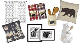 Bear Decor for Log Cabins